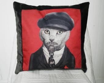 Costume cat cushion