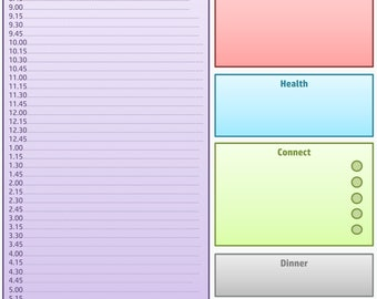 Planner Sheets - PDF download