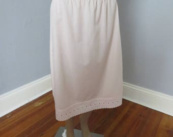 pretty vintage light pink slip from England IN # 60