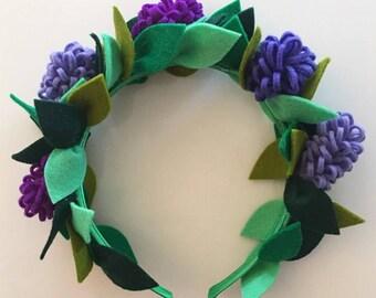 Lavender Fairy Crown
