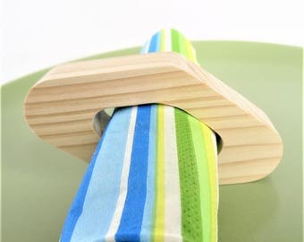 """NAPKINS round of wood, spruce, multi-bois, douglas or natural Robinia """"Diamond"""", decoration for any event (wedding, birthday..."""