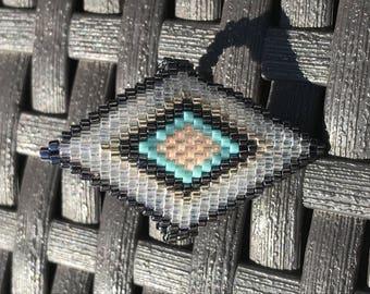 Miyuki beads fashion ring