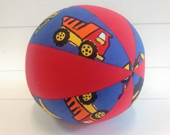 Balloon Ball Baby, Balloon Cover, Balloon Ball, Ball, Kids, Trucks, Red, Portable Ball, Travel Toy, Travel, Eumundi Kids, Eumundi