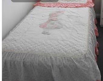 holly hobbie bedspread Vintage retro