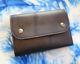 women's wallet. leather wallet. Black women's wallet. black leather wallet