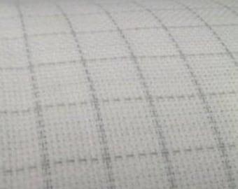 18 Count Aida/Washable Grid Cross Stitch Fabric/Easy Count Cross Stitch Fabric/Cross Stitch Fabric/Plain Cross Stitch Fabric