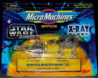 Star Wars Micro Machines space x-ray collection ll NIP