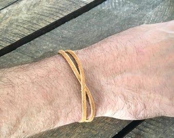 Menswear Leather Bracelet