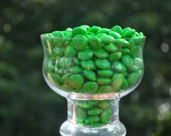 One pound green M&M's