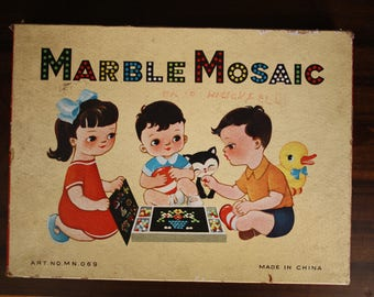 Vintage Marble Mosaic play set