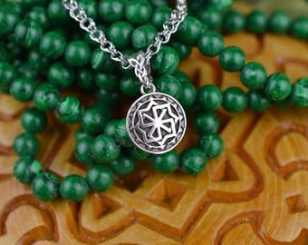 SMALL Molvinets Pendant. Handmade Ancient slavic amulet. Nordic talisman. Scandinavian Viking Talisman. Pagan Ethnic Necklace Amulet.