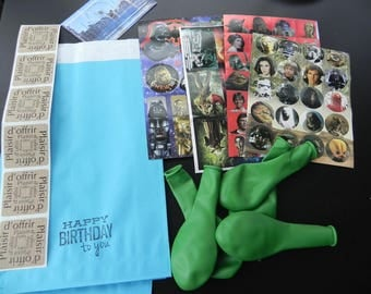 MAY THE FORCE BE WITH YOU! Birthday gift kit on the theme of stars...