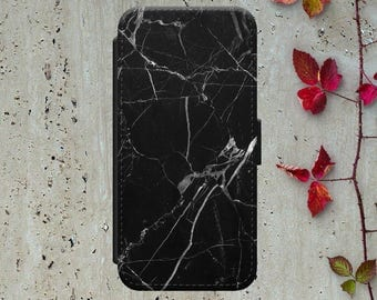 Black Marble Iphone 7 Wallet Case Flip Iphone 6 Case Leather Iphone 7 Plus Flip Case Iphone 6 Leather Wallet Case Iphone 6 Leather Cover