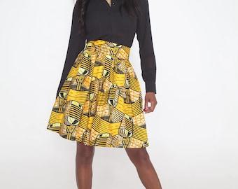 Sika'a kitoko midi skirt
