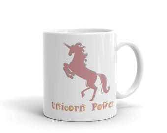 Unicorn Power Coffee Mug