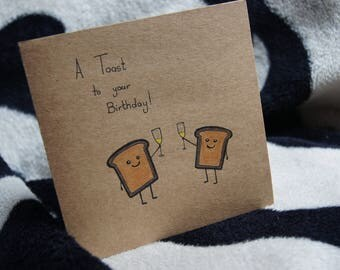 A Toast to your Birthday! Card