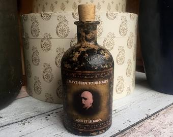 Voldemort. Voldemort Gift.  Voldemort Bottle. Harry Potter. Harry Potter Gift. Harry Potter Decor. The Dark Lord. Bottle. Decorative Bottle.