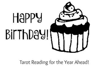 12-Month Birthday Outlook Tarot Reading