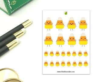 Candy Corn Emoji Stickers