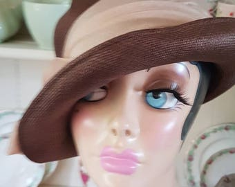 SALE NOW ON 1920's cloche hat