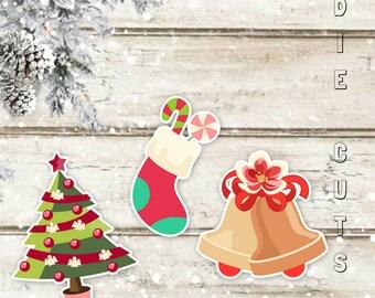 Under The Tree Die Cuts   Die Cuts   Christmas Tree Die Cuts   Stockings Die Cuts   Planner Die Cuts   Christmas Die Cuts   TN die cuts