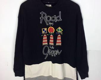 Rare Design Vintage Castelbajac Sport Sweatshirt Big Logo