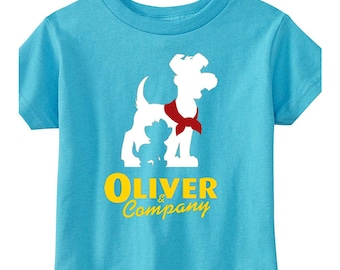 Toddler Disney Shirt Oliver & Company Shirt Oliver and Company Shirt Disneyland Shirt Disney World Shirt Magic Kingdom Shirt