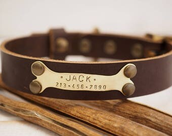 Dark Brown collar, Dog Collar, Personalized Dog Collar, Dog Collar Leather, Leather Collar, Leather Dog Collar, Dog Collar Personalized,