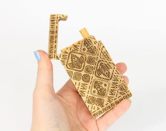 Cigarette Case - Cigarette Box - Cigarette Case Gift - Cigarette Holder Gift - Cigarette Box Gift - Cigarette Gift - Smoking Accessories