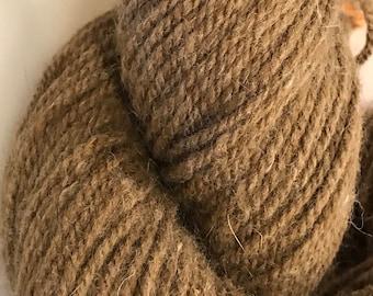 Romeldale/Angora millspun yarn American Made Humane