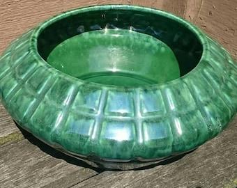 Vintage Haeger USA Pottery Green Planter Bowl 794