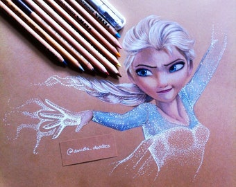 Elsa - Original fan illustration