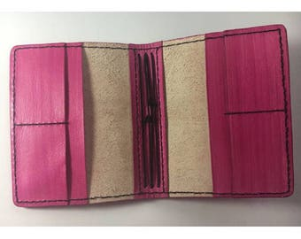A5 Travellers Notebook / handmade Traveler's Notebook / Pink Planner / Journal Cover / Midori / All Colours /uglydori/fauxdori