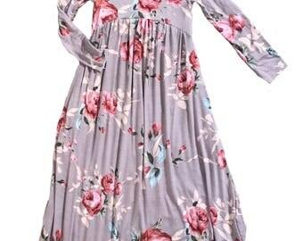 Maxi Dress Mauve