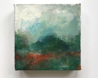 FOLD 2  abstract landscape art, acrylic landscape, art, abstract landscape, contemporary landscape, painting, landscape, abstract art,