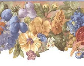 Floral Wallpaper Border BB74979