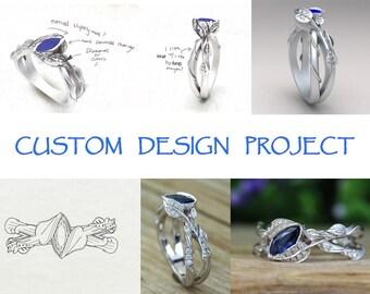 Custom Design Project - Design A New Ring!