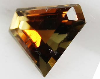 Andalusite 0.36cts Trillion Cut 5.00 x 4.30mm Q0134 Loose Faceted Gemstone Jewelry Making Gems Affordable Gem