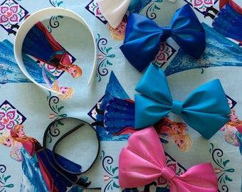 Custom Anna And Elsa Mickey Ears