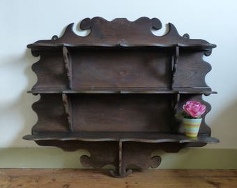 Wall shelves shabby chic furniture furniture France with extra Shelf unit shabby chic wall piece of furniture France