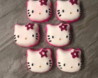 Hello Kitty Bathbomb, Custom Made, Choose Your Essential Oils for your 1 custom Hello Kitty handmade Bath Bomb, Hello Kitty, Gifts for Her