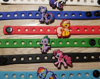 10  My Little Pony Silicone Bracelets Party Favors