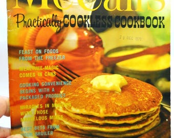 McCall's Practically Cookless Cookbook Vintage