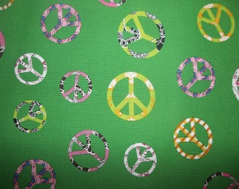 Save The World Cotton Fabric #158