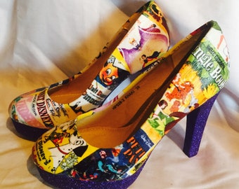 Disney shoes / heels* * * uk sizes 3-8 * * *