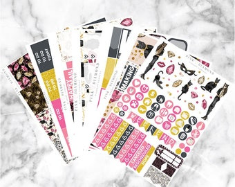 9 Lives // Epic Weekly Planner Kit (250+ Planner Stickers)