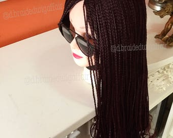 African box braided wig 'ADESEWA'