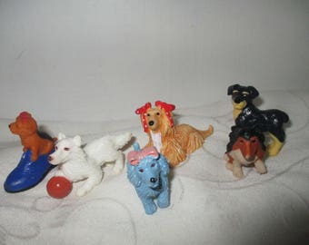 Puppy  in my Pocket - Set of Six Puppies (1994)