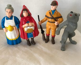Vintage HG Toys Little Red Riding Hood Storybook Characters
