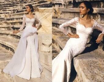 Barbara - Mermaid Lace Wedding Dress